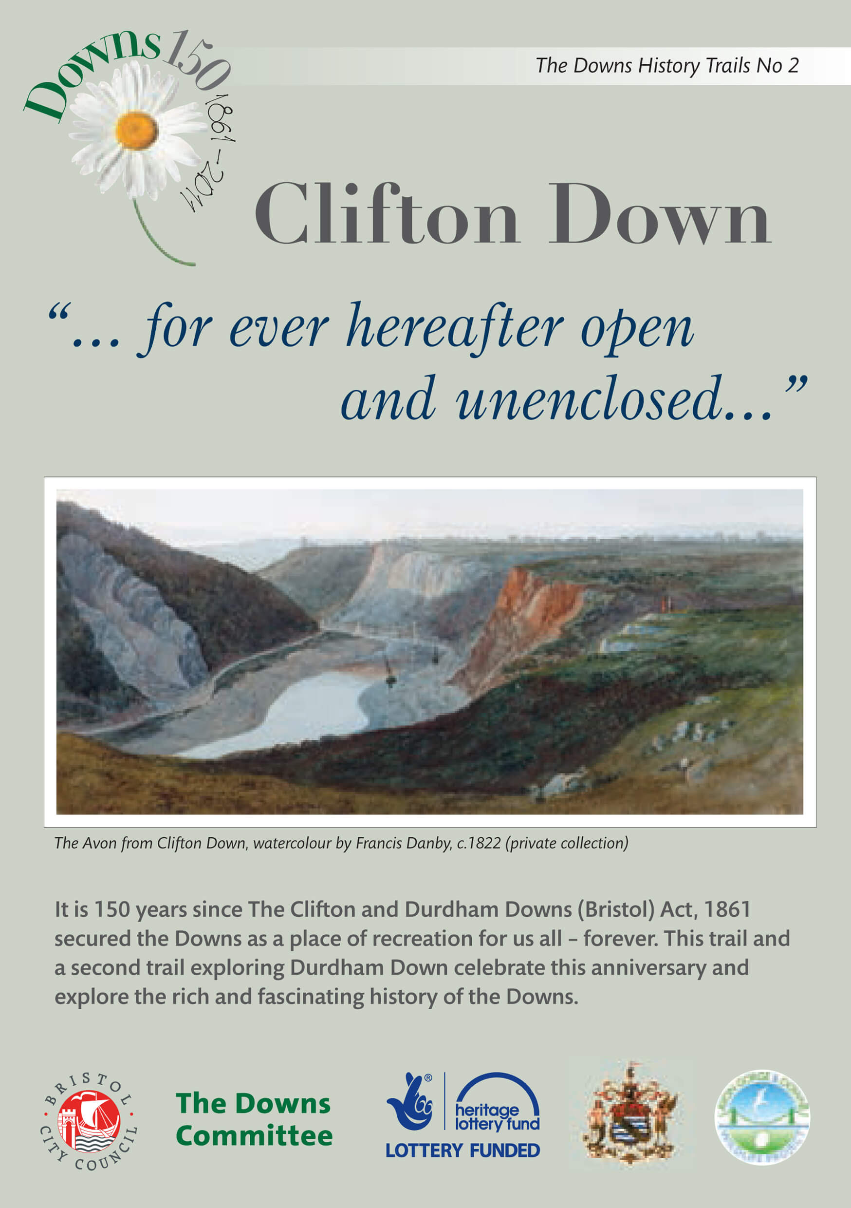 Clifton Down history trail download leaflet