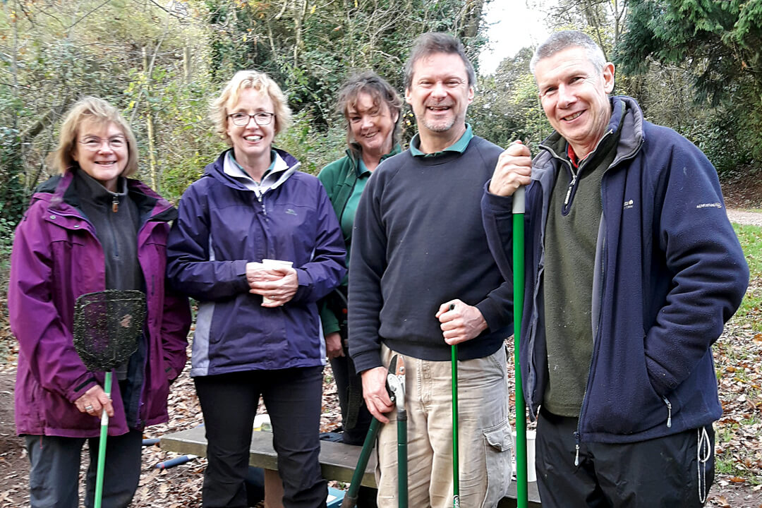 Forestry England volunteers